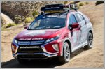 Mitsubishi takes second place at the Rebelle Rally