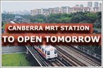 Canberra station on North-South Line to open
