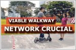 More crucial to build a viable walkway network, say experts