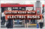 Quieter, cleaner rides next year with 60 electric buses on the roads