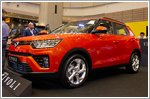 Ssangyong launches the facelifted Tivoli in Singapore