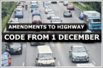 Amendments to Highway Code to cover PMD use and giving way to emergency vehicles