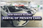 New service will allow the rental of private cars