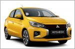 Restyled Mitsubishi Attrage and Space Star unveiled