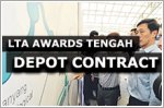 LTA awards $739.5 million project to build Tengah Depot for Jurong Region Line
