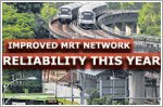 MRT network's reliability continued to improve in first nine months of the year