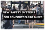 New safety systems for four ComfortDelGro buses