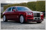Rolls-Royce commissions bespoke Red Phantom to raise funds for AIDS charity