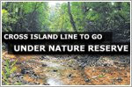 Cross Island Line to take direct route under nature reserve