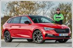 WRC Champions test the Skoda Monte Carlo models