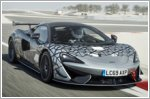 Road-legal version of the McLaren 570S GT4 released as the 620R