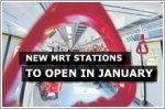 Three new MRT stations on the Thomson-East Coast Line to open on 31 January