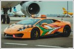 A new Lamborghini to lead aircraft at Bologna Airport