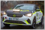 Corsa e-based rally car in development
