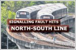 Signalling fault hits North-South MRT line
