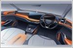 Interior sketch of Skoda's Vision In concept revealed