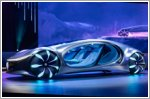 Mercedes-Benz VISION AVTR unveiled at CES 2020