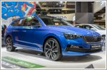 Skoda previews the new Scala in Singapore