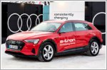Audi provides sustainable mobility at Davos