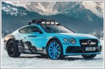 Bentley to compete in the 2020 GP Ice Race