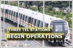 Three stations on Thomson-East Coast Line open