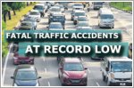 Fatal accidents at record low, but elderly and motorcyclists still at risk