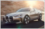 BMW unveils the Concept i4 pure electric Gran Coupe