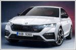Skoda unveils its first RS plug-in hybrid - the Octavia RS iV