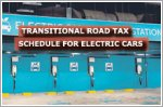 LTA announces transitional road tax schedule for electric cars