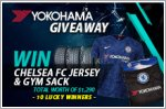 Yokohama giveaway - Up to $1,290 worth of Chelsea FC apparel to be won!