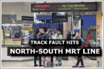 Track fault hits North-South MRT Line, slowing train service