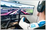 BMW's race drivers compete against professional sim racers