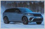 Land Rover celebrates 50th anniversary with unique snow art
