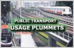Public transport usage plummets as more stay home