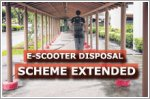 Disposal scheme for non-compliant e-scooters extended
