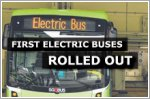 First batch of 10 electric buses now being used on five routes