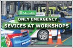 Only emergency repairs available at workshops