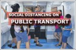 Safe distancing measures to be implemented on public transport