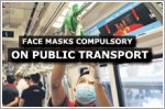 Face masks now compulsory on public transport