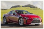 Lexus reveals the updated 2020 LC500 Coupe