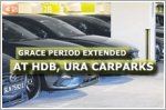 Extended grace period for HDB and URA car parks to aid deliveries