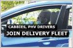 Cabbies and PHV drivers turn to deliveries