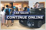 Car sales continue online despite showroom closures