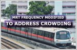 Train frequency modified to ease crowding