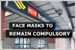 Face masks will stay compulsory on public transport