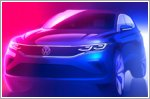Volkswagen reveals first teaser of updated Tiguan