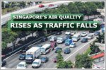 Air quality improves as traffic levels fall
