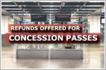 Refunds announced for unused concession passes