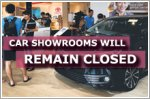 Car showrooms to remain closed after 2 June