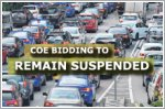 COE bidding to remain suspended after circuit breaker ends